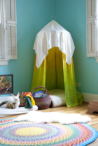 reading tent for child living ecochic